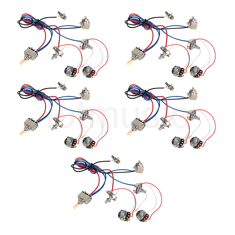 high quality wire lp buy cheap wire lp lots from high quality electric guitar wiring harness kit 2v2t pot jack 3 way switch for gibson les paul lp
