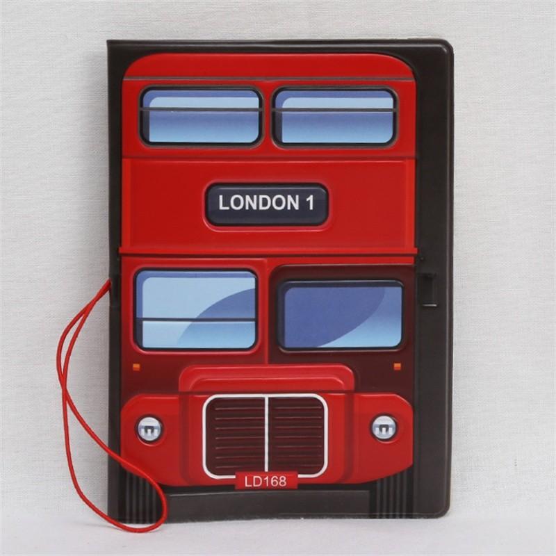 Red LondonBus Passport Holder (1)