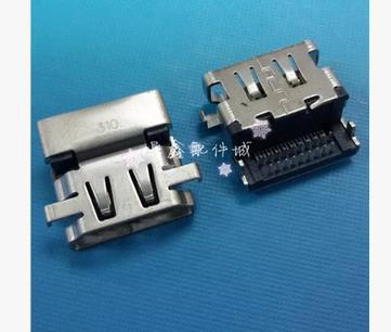 10PCS FOR Dell / HP / Toshi / Lenovo notebook HDMI 19Pin definition interface onboard accessories(China (Mainland))