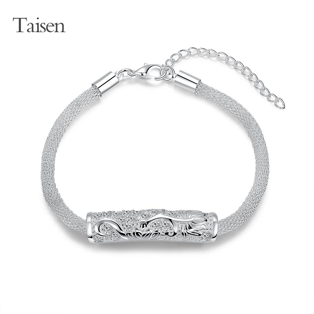 2016 NEW fashion jewelry 925 sterling silver bracelets for women bracelet female party bracelet & bangle gift for girl friend(China (Mainland))