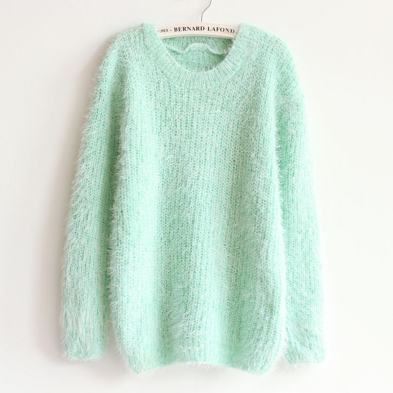 2016 Hot Autumn Winter Women's Round Neck Sweater Women Hedging Loose Pullover Casual Sweater Cheap Wholesale Drop Shipping A305(China (Mainland))