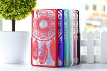 HOT ! 3D diy Painted Vintage Paisley Back cover Case BQ Aquaris E5 4G Dream Catcher Stand Mobile Phone case - Fashion Factory store