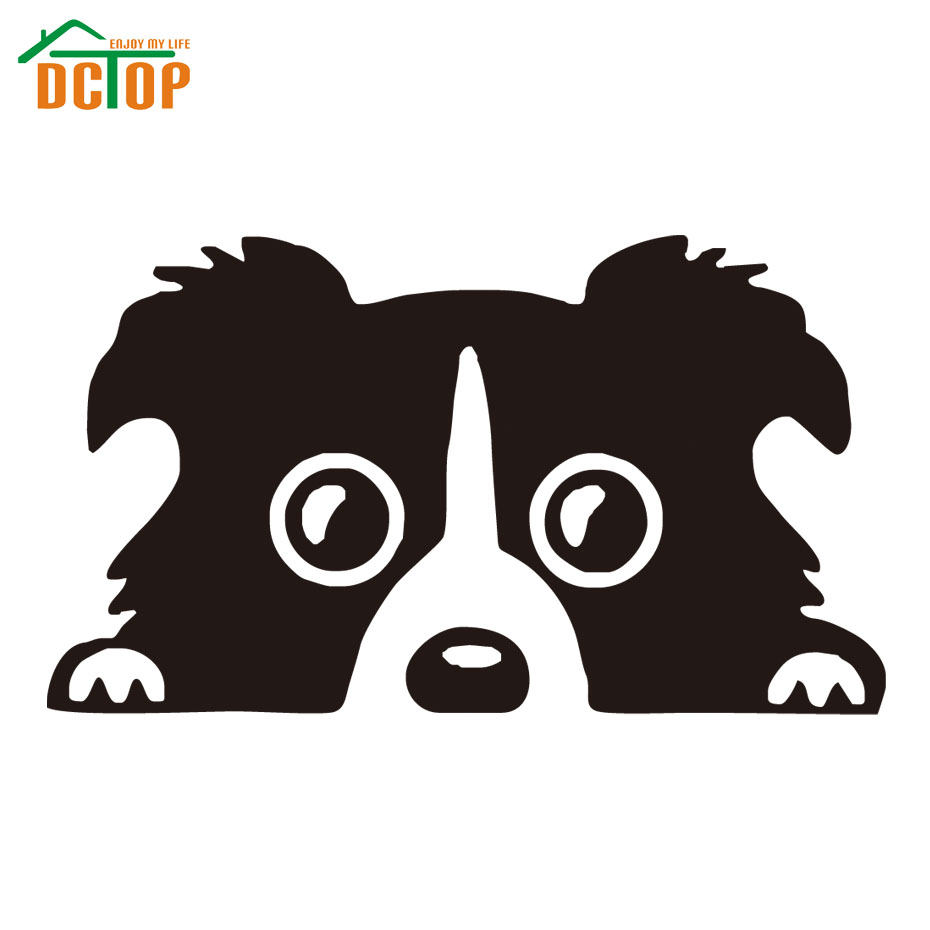 Car sticker designs images - Border Collie Dog Pet Car Sticker Vinyl Cars Decals Strong Adhesive Stickers New Design