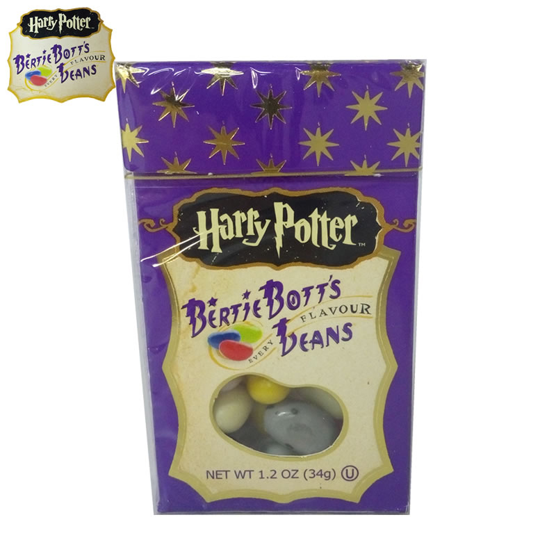 Hot Sale!34g Sweet Candy Bean Strange Taste Food Snack Harry Potter Jelly Beans Candy Bean Boozled Halloween Christmas Gift<br><br>Aliexpress