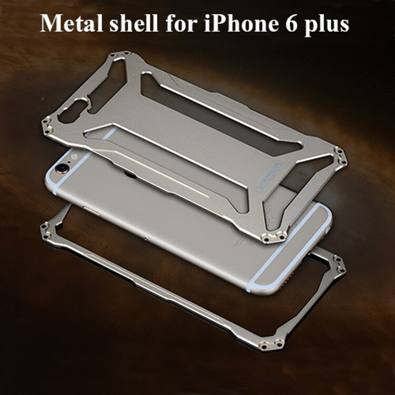For Apple iPhone 6 frame Case Luxury Aluminum Metal Cell Phone Protective Cases Covers For Apple iPhone6 4.7 inch shell frame(China (Mainland))