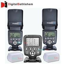 2x yongnuo yn-iv maestro radio flash speedlite + 1x YN560-TX wireless controller flash per nikon d800 d610 d600 d700 d90(China (Mainland))