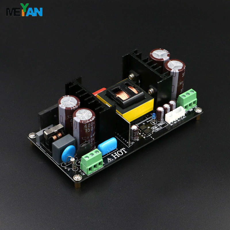 KM-P600 High Power digital amplifier switching power supply Dual +/-48V regulator 600W SMPS board for IRS2092 Power amplifier
