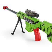 Barrette Nerf Gun Disinstallare Continua Proiettile Fucile Da Cecchino Toy Boy Pistola Flare Luce Pistola Pistola Ad Acqua Dolce di Cristallo Proiettile Fucile Ad Aria Compressa(China (Mainland))