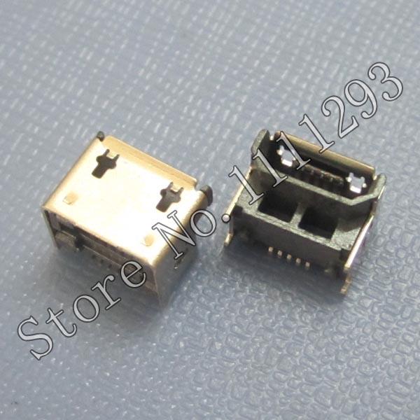 10pcs/lot Micro USB Jack Port for Western Digital External Hard Drive etc Data Connector(China (Mainland))