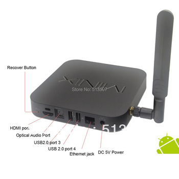MINIX NEO X7 Quad core RK3188 2G 16G TV BOX Mini pc set top box Android 4.2 rk3188 with Bluetooth V4.0 & WIFI 5Ghz
