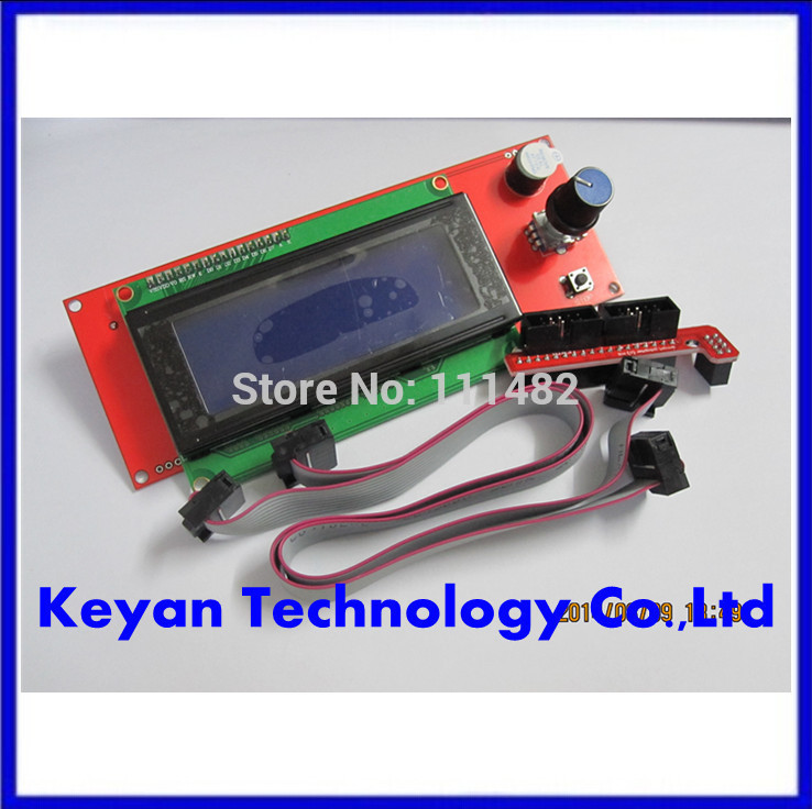 ! 3/lot 3D printer reprap smart controller Reprap Ramps 1.4 2004 LCD control - Keyan Technology Co.,Ltd store