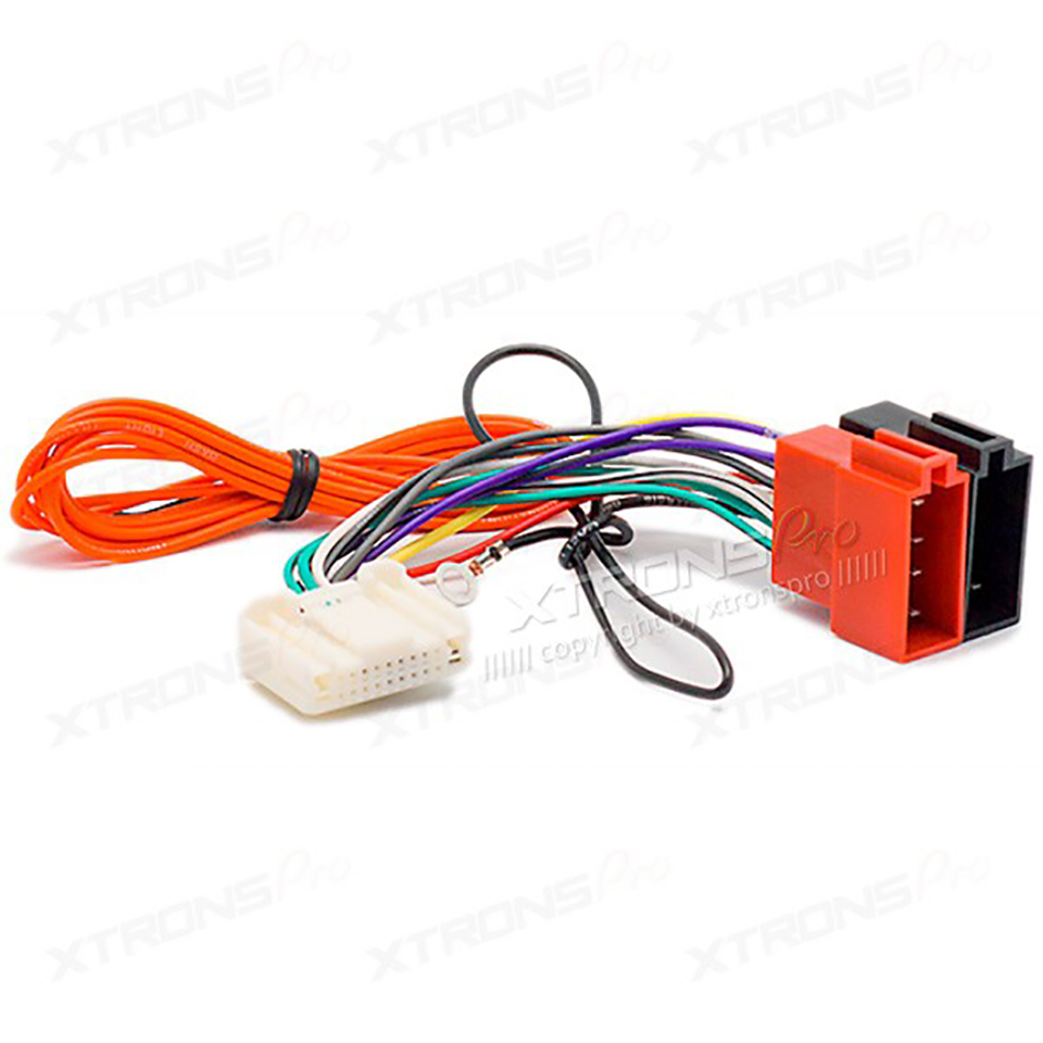 car radio stereo iso wiring harness adapter for nissan 2007 subaru impreza 2007 auto wire