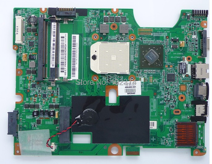 498460-001 for HP CQ50 CQ60 G60 AMD Laptop motherboard 498460-001 100% Tested and guaranteed in good working condition!!(China (Mainland))