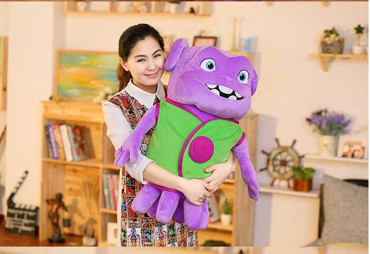 big creative plush greenclothes aliens toy lovely home laughing alien doll gift about 70cm(China (Mainland))