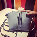 All match Nubuck Leather Ladies Shell Bag Fashion All match Shoulder Bag Casual Small Crossbody Bag