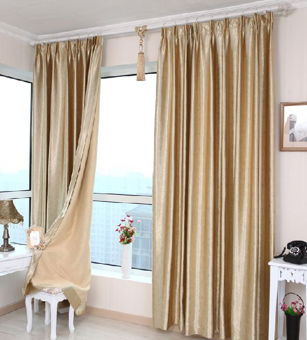 cheap sun office full finished custom blackout curtains