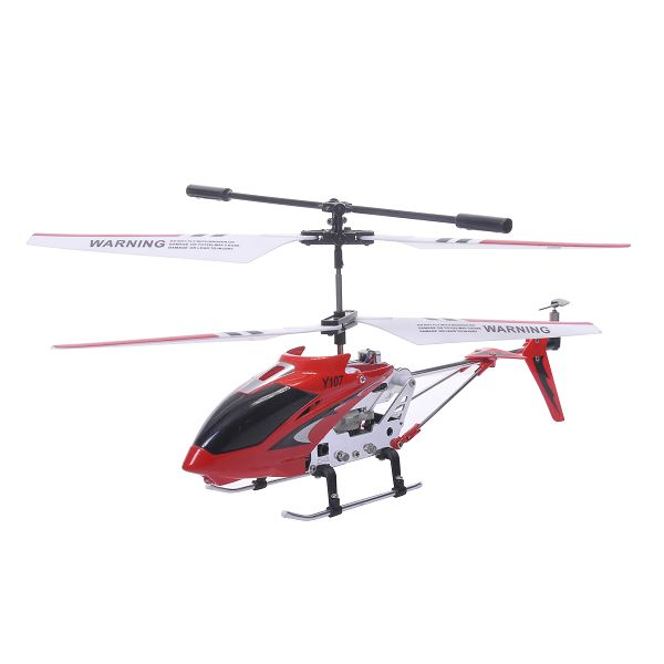 New YIMEI Y111 Alloy RC Helicopter 3CH with Gyroscope Drones Helicopter Radio Control for Kids Toys Red Free Shipping(China (Mainland))