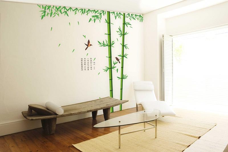 Revger.Com = Sticker Mural Bambou ~ Idée Inspirante Pour La