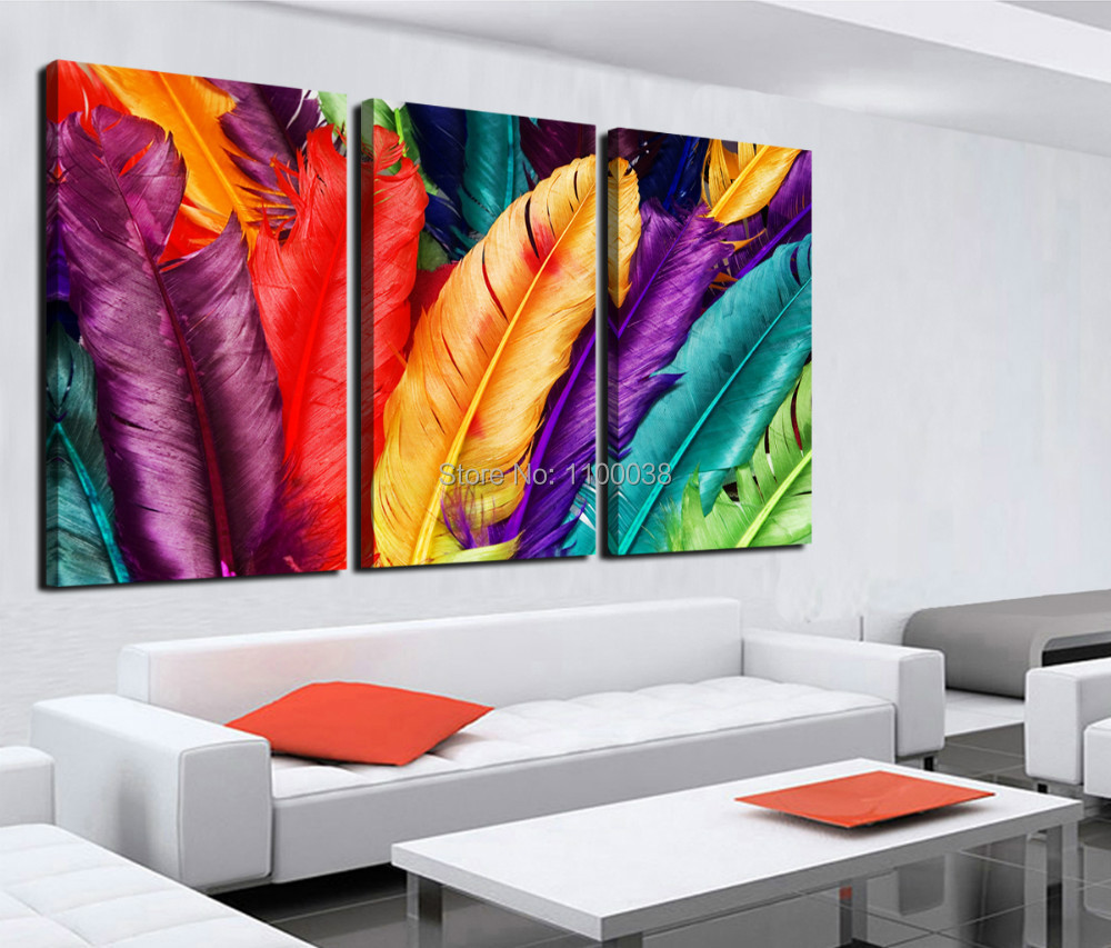 New arrival free shipping home decoration modern canvas for Imagenes de cuadros abstractos famosos