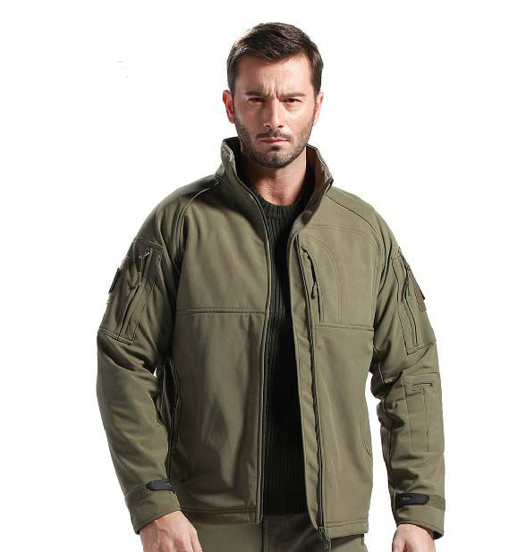 TAD V 4.0 Men Outdoor Hunting Camping Waterproof Commander Coats Jacket Army Coat Outerwear S,M,L,XL,XXL - Hard-working people store