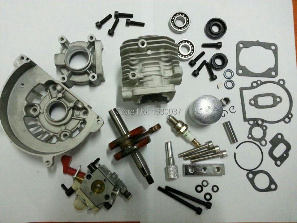 Rovan 30.5cc 4 Bolt Big Bore Kit &amp; walbro 668 carbur fit CY ZENOAH HPI KM Engine<br><br>Aliexpress
