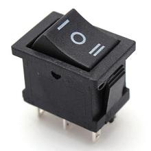 Buy Mini 5PCS AC 6A/250V 10A/125V 5X 6Pin DPDT ON-OFF-ON Position Snap Boat Rocker Switch T1404 P0.5 for $1.12 in AliExpress store