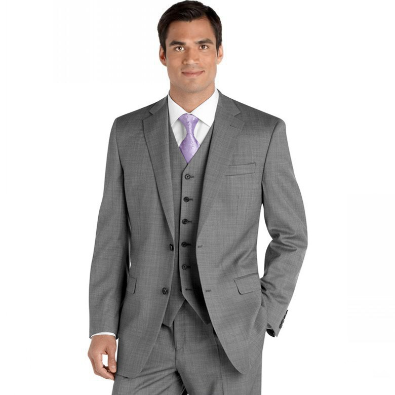 Gray sharkskin groom suit custom made grey two tone woven for Custom suits and shirts