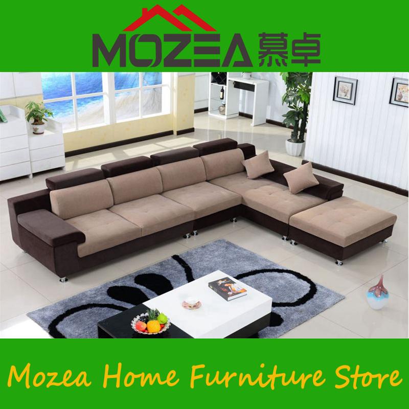 high quality factory price sofa Living room sofa sets fabric soft corner sofa sets(China (Mainland))