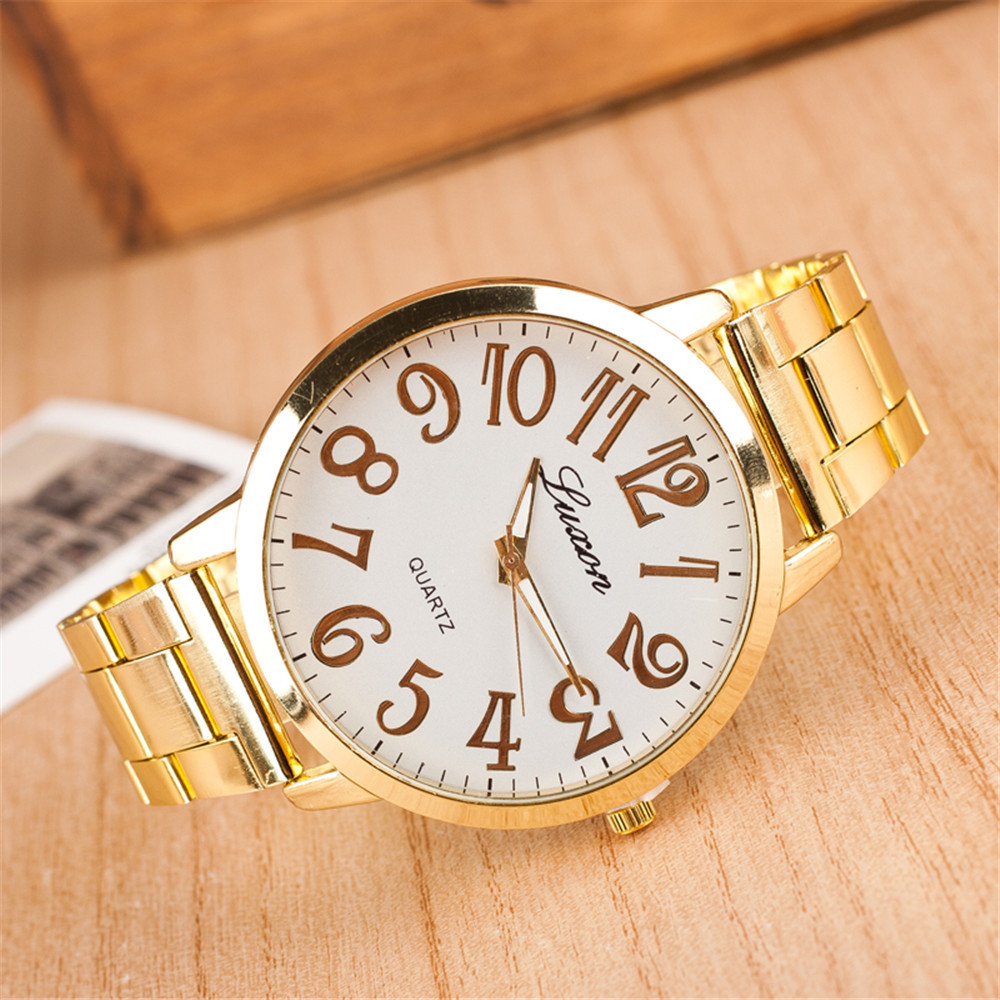 fashion luxury gold watches casual
