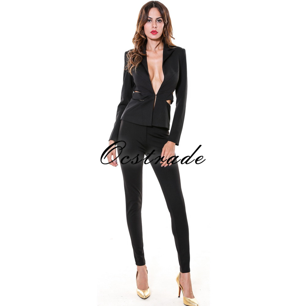 Womens pant suits for weddings reviews online shopping for Women s dress pant suits for weddings