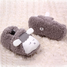 Lovely Baby Boys Girls Winter Warm Plush Booties Infant Soft Slipper Crib Shoes Free Shipping
