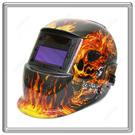 Flame Auto Darkening Mig Tig Mag Welding Grinding Helmet Welder Mask Free Shipping(China (Mainland))