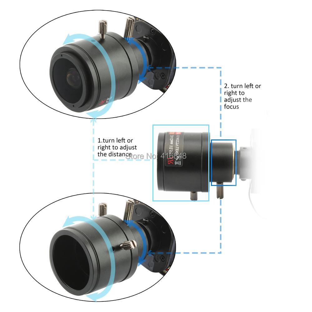 HD CCD/CMOS 2.8-12mm megapixel varifocal CCTV megapixel Lens with lens mount for usb camera(China (Mainland))