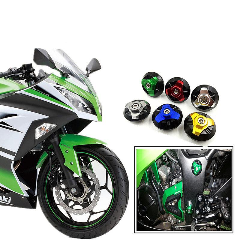 Для Kawasaki mdr-ex300 R ниндзя 300 2013 2014 2015 чпу мотоцикл декоративные аксессуары тела винт декоративным покрытием