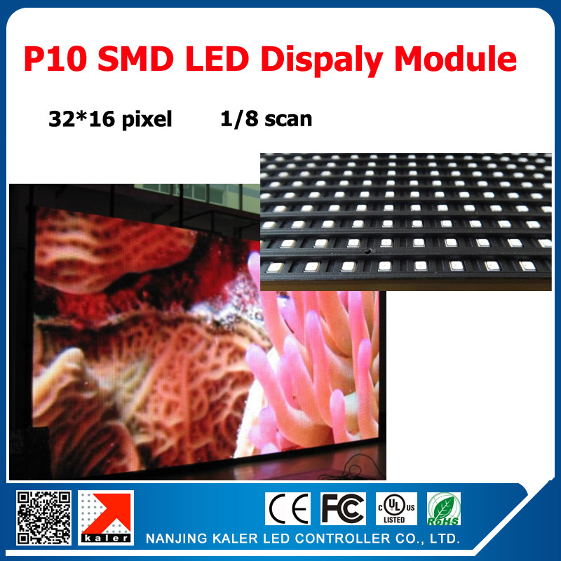 32*16 pixel led display p10 indoor full color led panel rgb 320*160mm p10 module led(China (Mainland))
