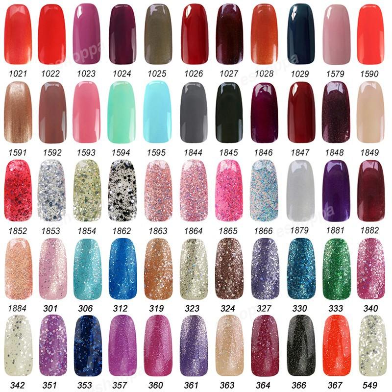 199 Colors Nail Polish Gel 15ml Ido 1557 Kit Nails Soak Off Uv Led Accessories Unfair Weight