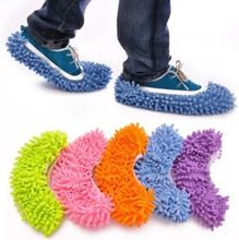 2pcs New Cleaning Slipper Lazy Cleaning Slipper Multifunction Mop Shoes Cover(China (Mainland))