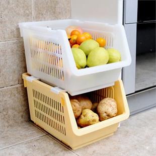 plateau en plastique panier de rangement corbeille de fruits de stockage gants bac l gumes. Black Bedroom Furniture Sets. Home Design Ideas