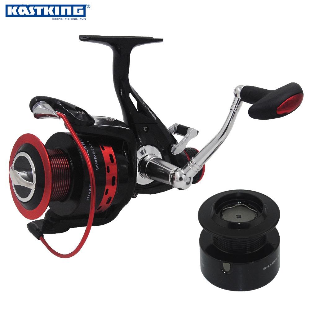 KastKing 2016 New Extra Spool 11BBs Faster Speed 5.2:1 Spinning Reel Fishing Reel For Freshwater Fishing baitcasting