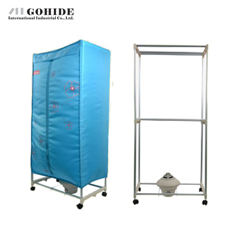 Gohide Ly-F18 Household Mute Square Dryer Clothes Dryer Household Double Layer Dryer Storage Boxes Home Accessories(China (Mainland))