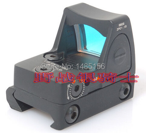 Hot Sale Trijicon RMR Red Dot Sigh Style Red Dot Sight With Switch For Hunting Black- Free shipping <br><br>Aliexpress