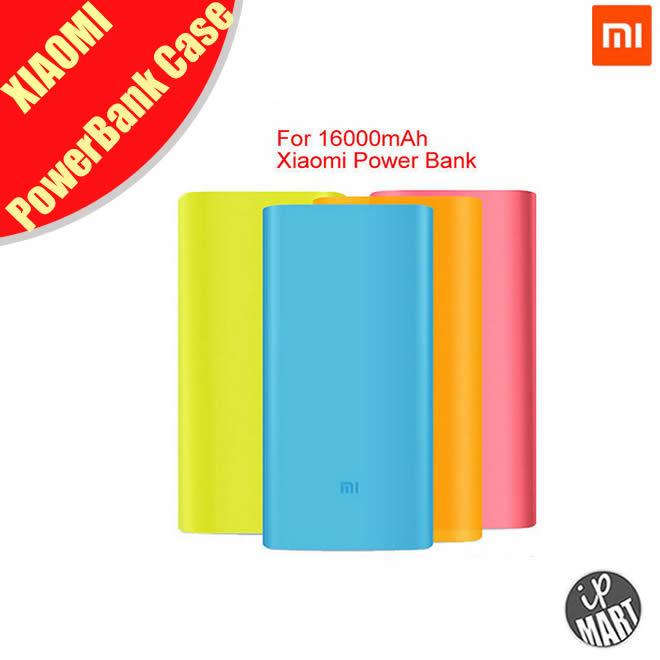 Silicon Case Xiao MI MIUI 16000mAh Power Bank Xiaomi Soft Colorful Protector - IP-Mart store