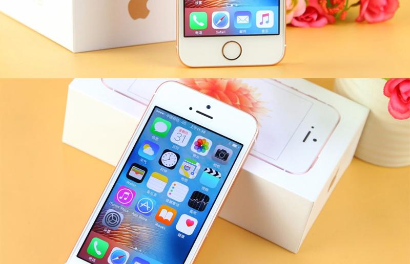 Original Unlocked Apple iPhone SE Phone Dual Core 4.0″ 12MP iOS Smartphone 4K Video 4G LTE Touch ID Sealed phone