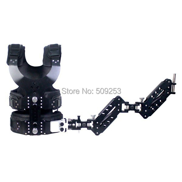 2.5-15kg Load Pro Camera Steadicam Vest+ Dual Arm(China (Mainland))