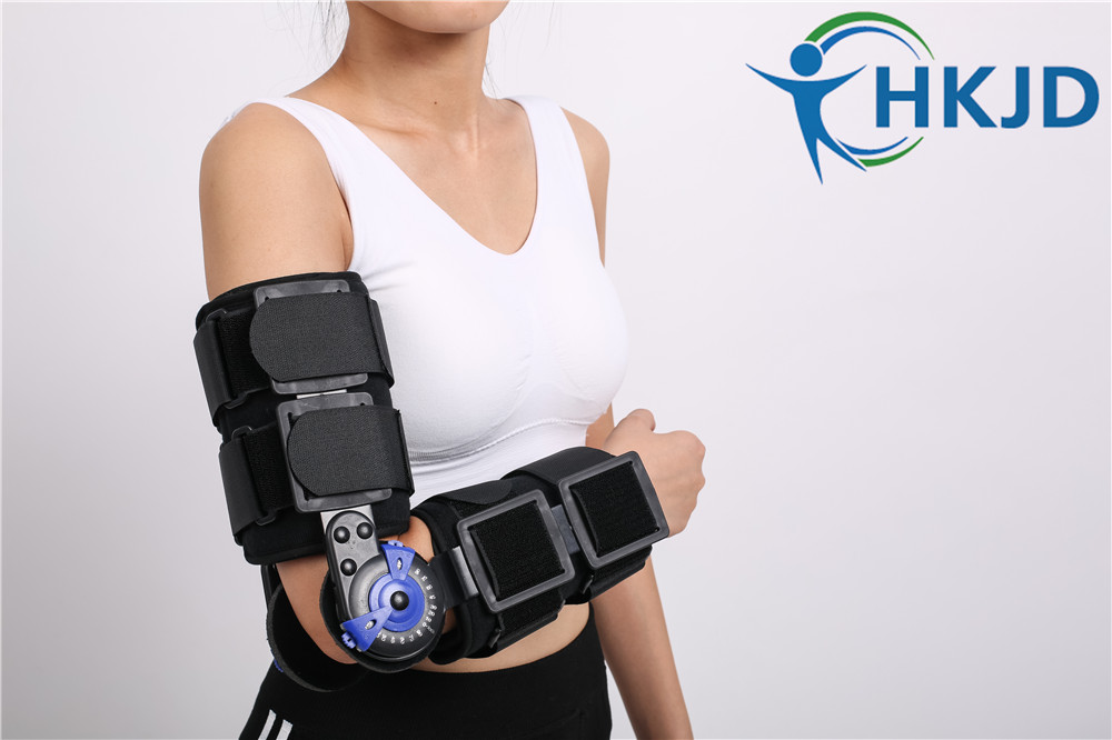 Free Shipping Hinged Elbow Brace Medical Orthopedic Orthotics Supports for forearm fracture, Soft tissue injury,CE FDA<br><br>Aliexpress