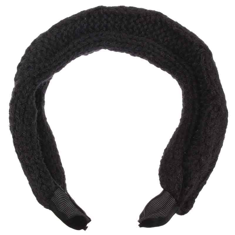 2015 Fashion Korea Style Handmake Hollow Out Wool Knitted Hair Clasp Black Hairband Wide Headbands For Women Hair Accessories(China (Mainland))