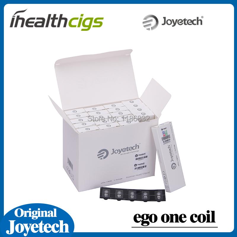 100% Original Joyetech Ego One Coils replacement Coils for Ego One Starter Kits Joye Ego One CL Atomizer Head 20pcs/lot<br><br>Aliexpress