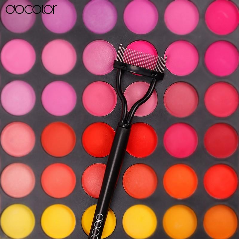 Chegada nova maquiagem Mascara Guia Aplicador de Cílios Comb Sobrancelha Escova Curler Ferramenta Frete Grátis!