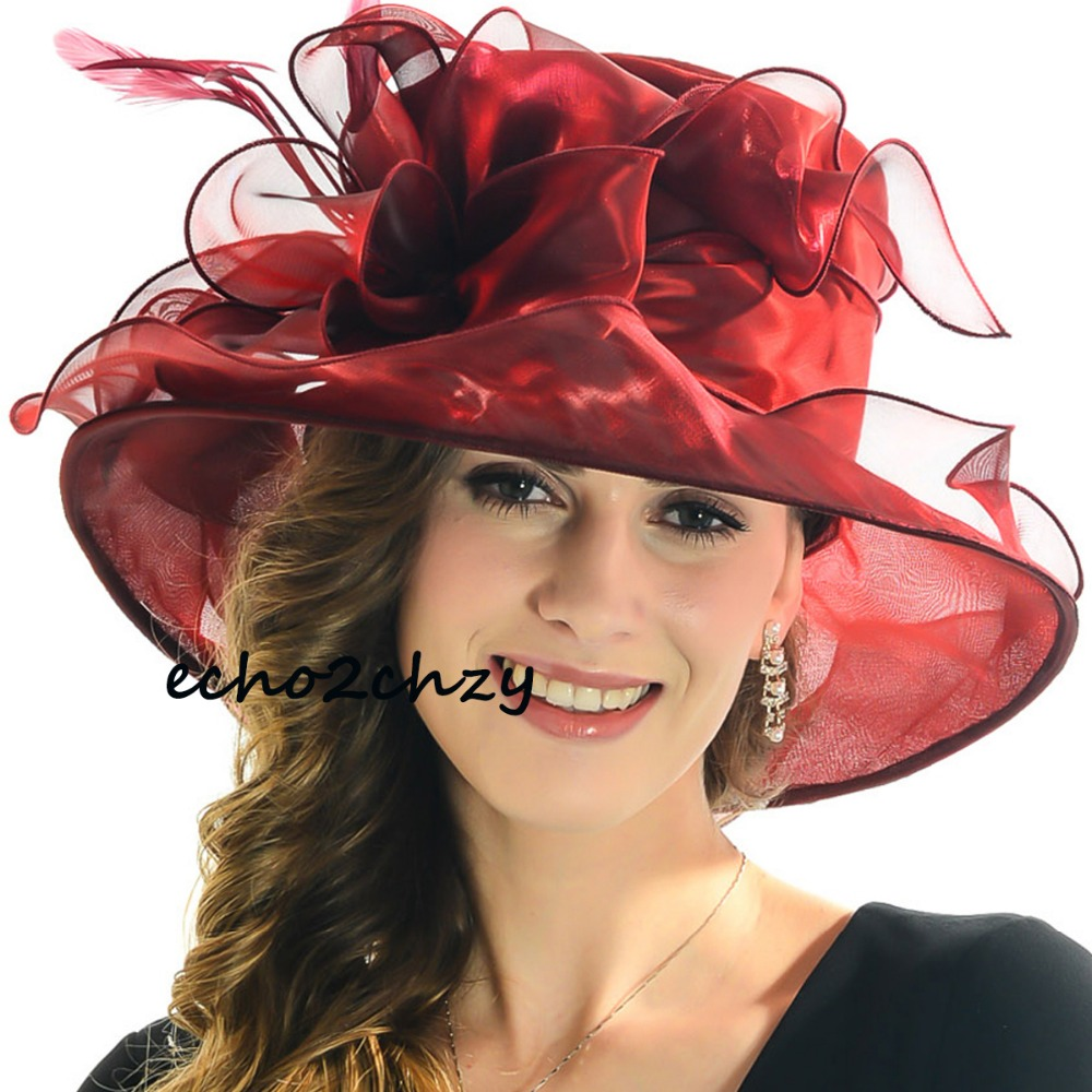 organza dress church kentucky derby hat