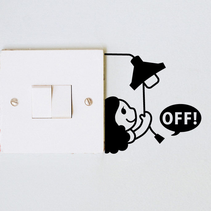 Popular Switch Off Stickers Buy Cheap Switch Off Stickers Lots From China Switch Off Stickers
